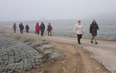 Winterwanderung nach Mündling